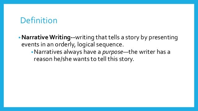 Tips for Writing a Personal Narrative Essay - YourDictionary