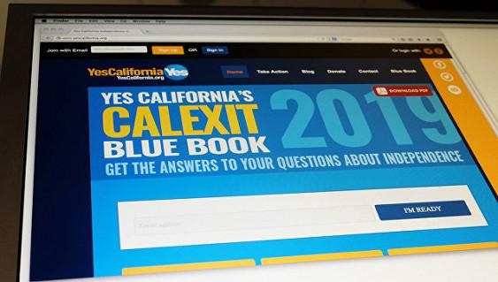 Сторонники отделения Калифорнии приняли решение открыть «посольство» вРФ
