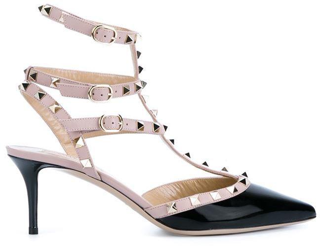 Туфли под валентино с шипами