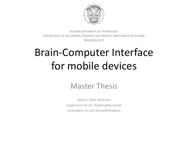 List of thesis title for computer science