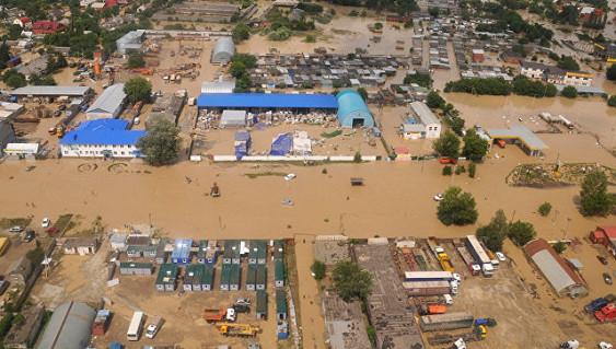 Ученые составили карту катастрофических наводнений наКубани
