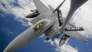 СШАприменили дваF-15входе удара поСирии