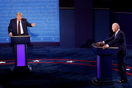 Байден собрал миллионы долларов завремя дебатов сТрампом