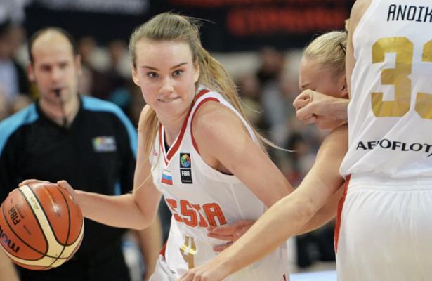 Баскетболистки изРФпобедили Боснию вотборе наЧЕ-2021