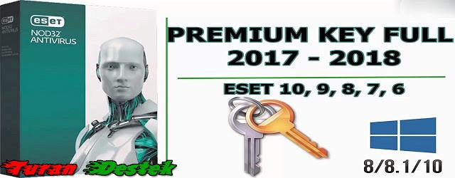 eset nod32 antivirus 8 keys 2018