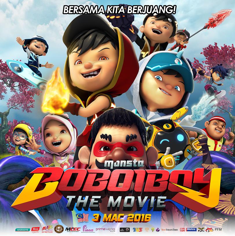 BoBoiBoy: The Movie (2016) BluRay 480p 720p Full Movie