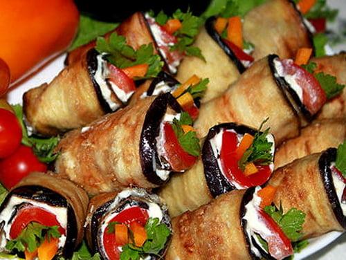 Рецепты быстрой закуски из баклажан