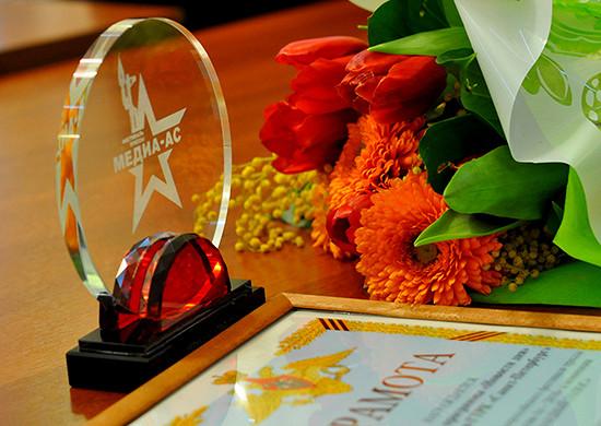 ВСанкт-Петербурге командующий войсками ЗВОнаградил победителей конкурса «Западный Медиа-АС— 2018»