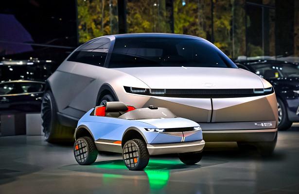 Hyundai показал свой самый маленький электрокар