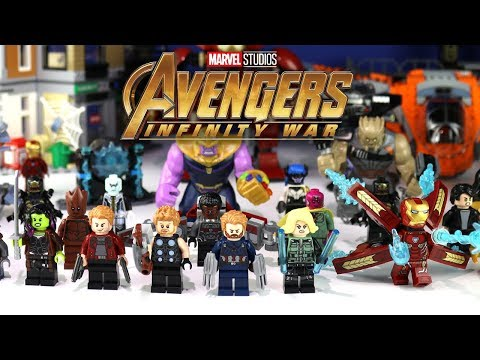 Avengers LEGO Set Descriptions May Reveal Infinity War…