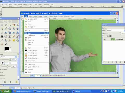 Automate Green-Screen Layouts in Photoshop CS4