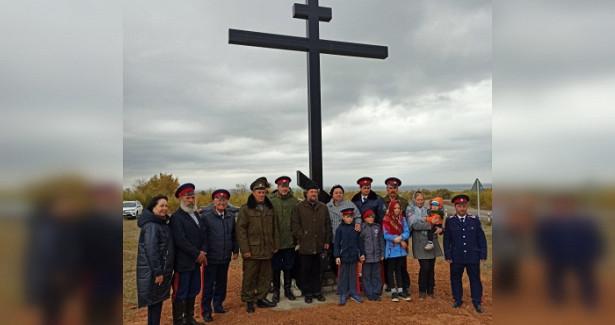 ВСерафимовиче Волгоградской области освятили Поклонный крест