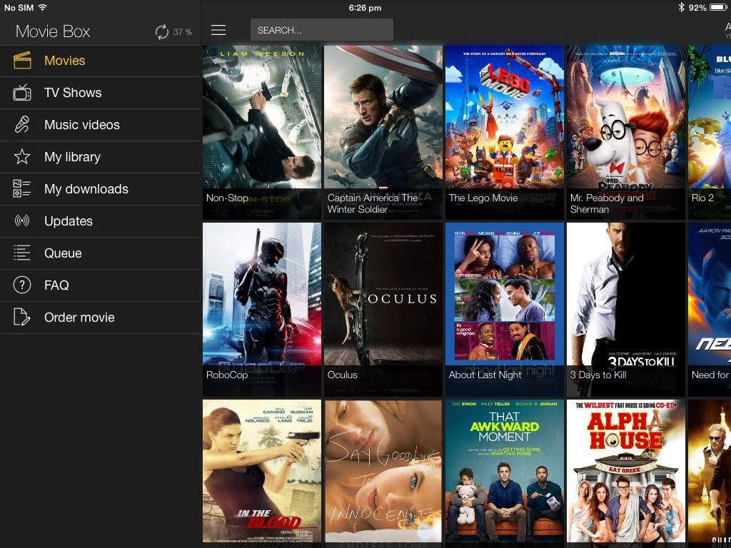 Install Movie Box - to all versions of the Apple iPhone