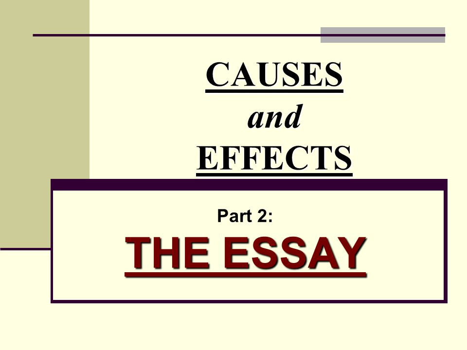 Write My Topics For Cause And Effect Research Papers