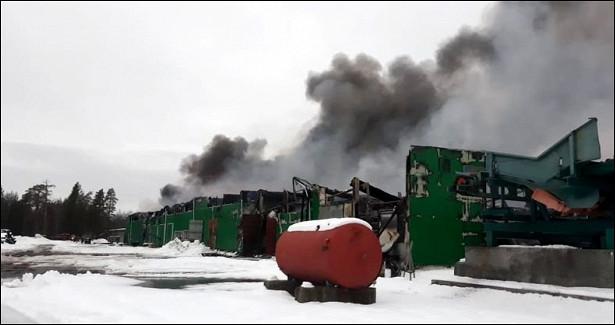 Заинформацию оподжоге завода «ФинТек» полиция Карелии предлагает 500тысяч рублей