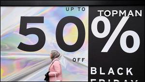 Американцы рекордно потратились в«черную пятницу»