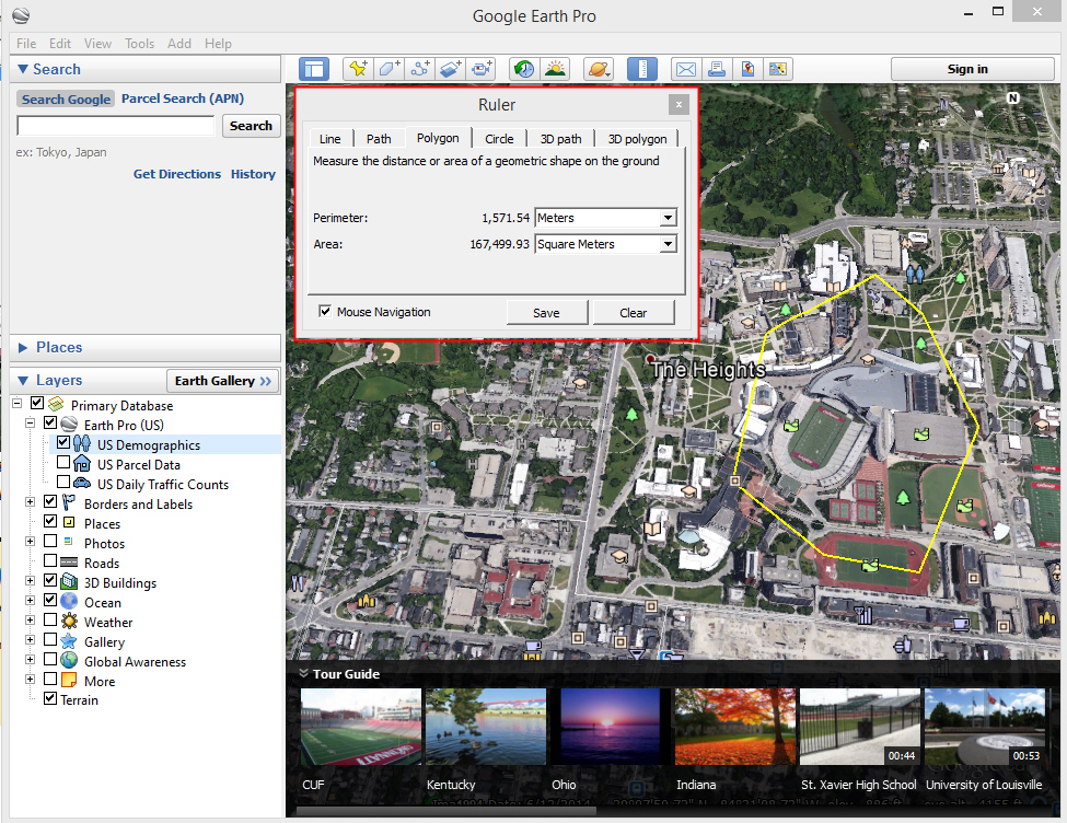 Download Google Earth - Windows 10 version Free