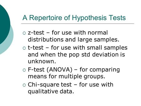 When do we use hypothesis testing? - Quora
