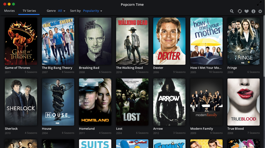 How to download a movie from Popcorn Time on your computer