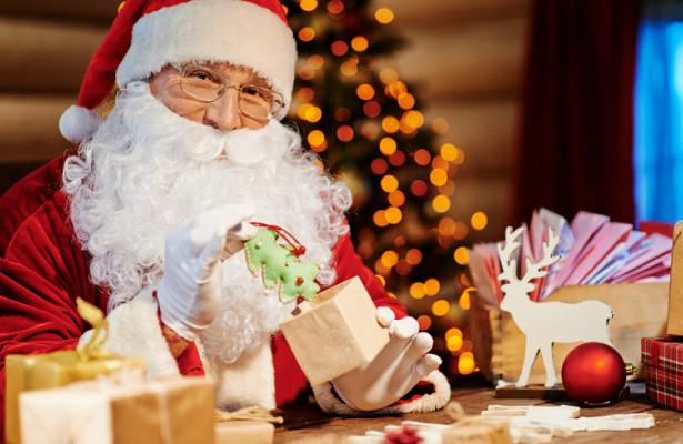 Полиция остановила Санта-Клауса заотсутствие фарнасанях