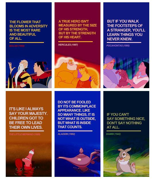 Of The Best Life Quotes From Disney Films