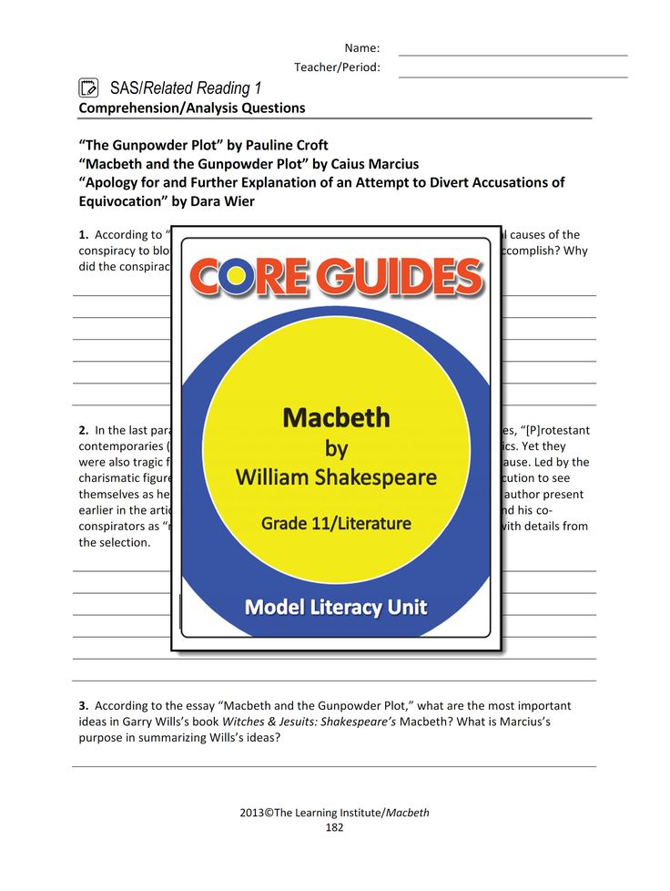 Analysis: Macbeth - Macbeth Free Essays