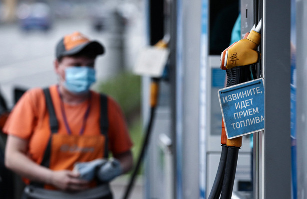 Бензин набольшинстве московских АЗСподорожал