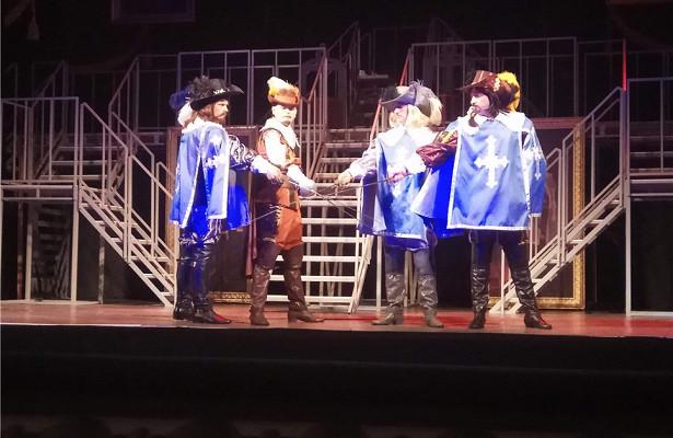 Премьера мюзикла «Д'Артаньян итримушкетера» пройдет 27апреля вВолгограде