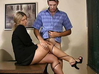 Spooning lesbian sex position