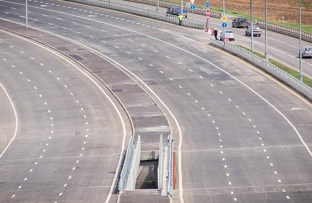 НаВаршавском шоссе открыто движение поновой эстакаде