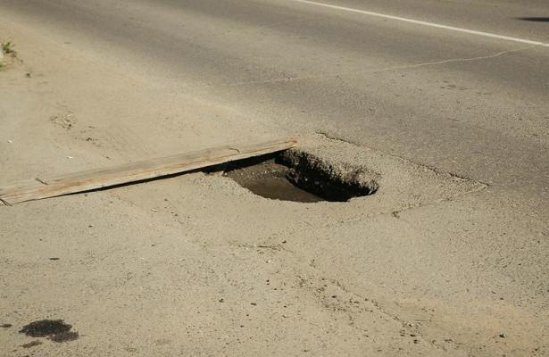 Жительница Читы раскритиковала городские власти заплохое состояние дорог