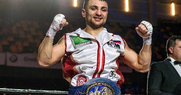 Российский боксер Аванесян защитил титул чемпиона Европы