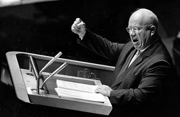 Башмачная дипломатия Никиты Хрущёва