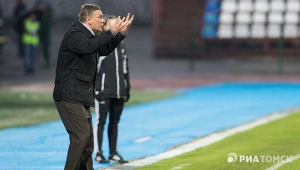 «Локомотив» разгромил «Томь», сумев забить шесть мячей вовтором тайме