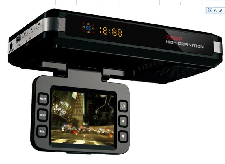 Три в одном видеорегистратор навигатор и антирадар