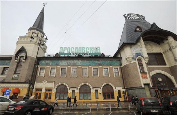 Театральные декорации: факты омосковских вокзалах