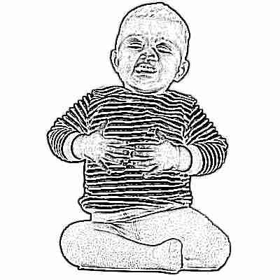 Если у ребенка болит живот в области пупка и рвота