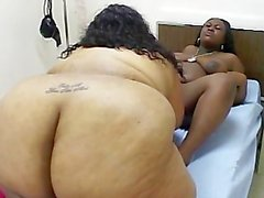 College lesbian amateur pegged by strapon