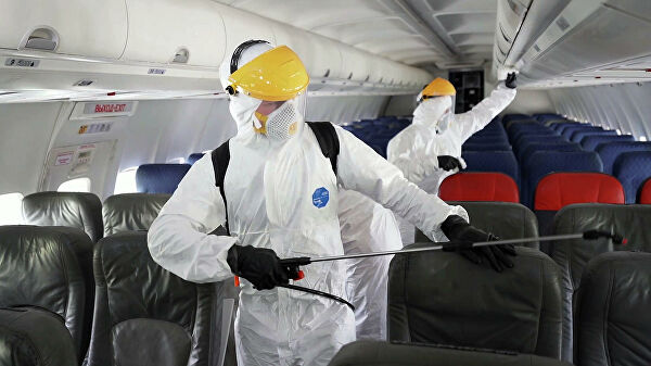 Названы способы защиты отCOVID вовремя перелета