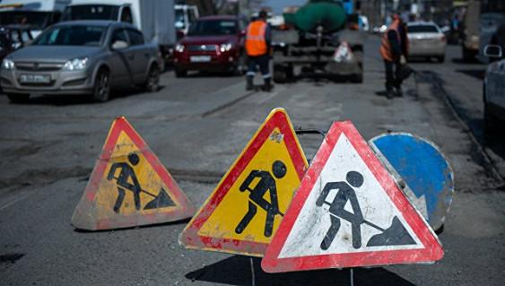 В России зафиксировали свыше 130 случаев ремонта дорог в неблагоприятную погоду