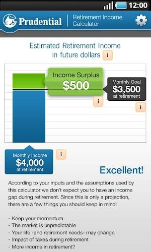 Xoom retirement calculator google keep