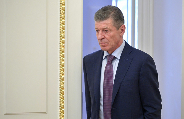 Козак принял участие впереговорах поДонбассу