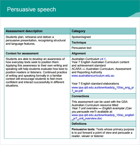 How to Write a Persuasive Speech? - Write a Writing