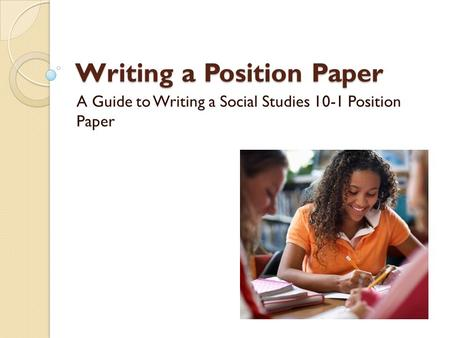 Write my guide to research papers