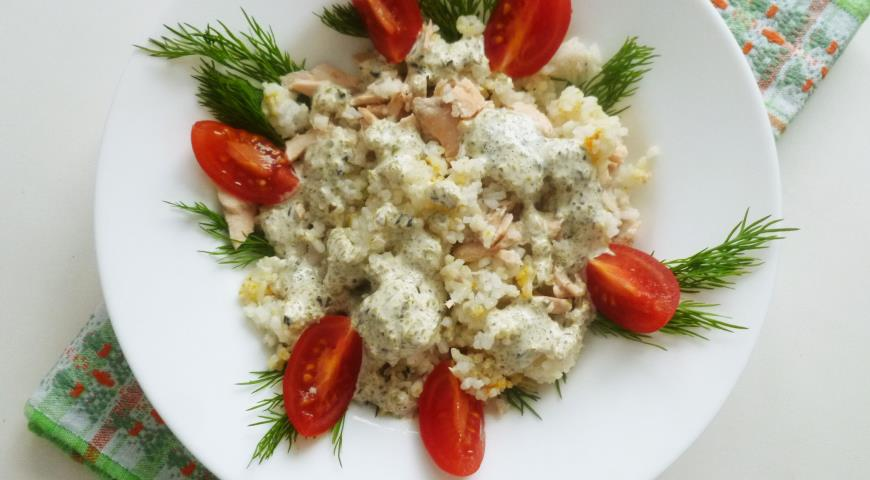 Приготовление салатов из рыбы с фото
