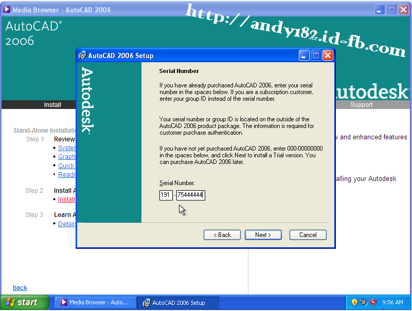 autocad 2006 activation code crack download