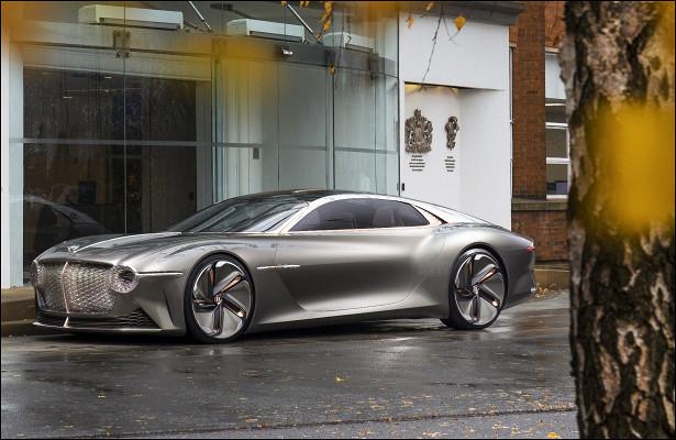 Появились подробности опервом электрокаре Bentley