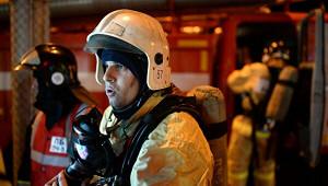 Людей эвакуировали изресторана вМоскве из-запожара