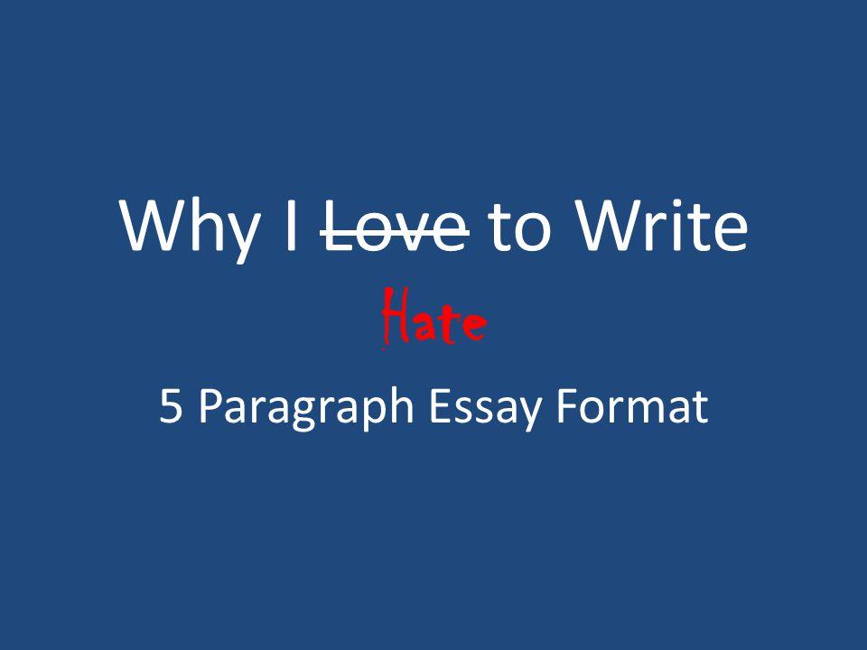 Write my love essay