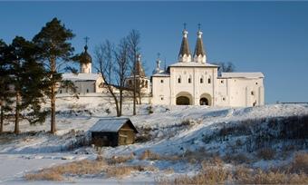 Отреставрирован Ферапонтов монастырь